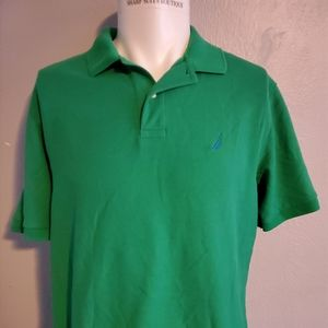 Nautica Green Polo Large Excellent Condition